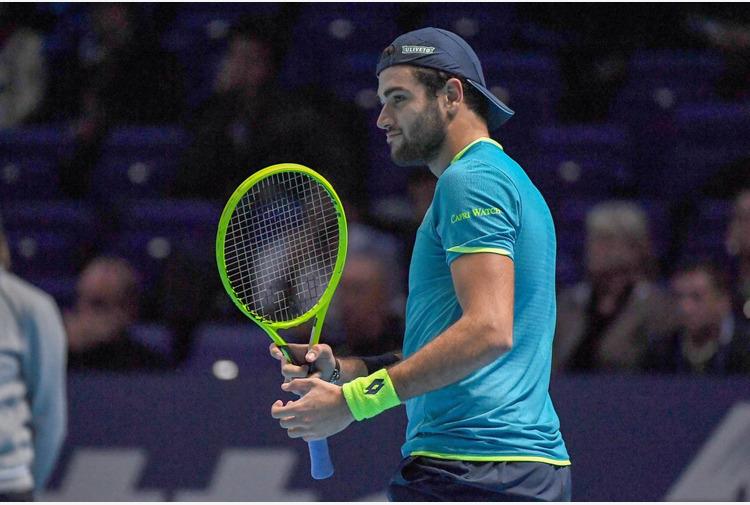 Berrettini primo finalista sull'erba di Wimbledon