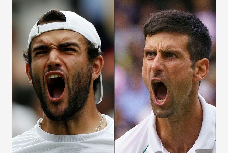 La sfida di Berrettini riparte dall'urlo di Djokovic: e TV8 la trasmette in chiaro