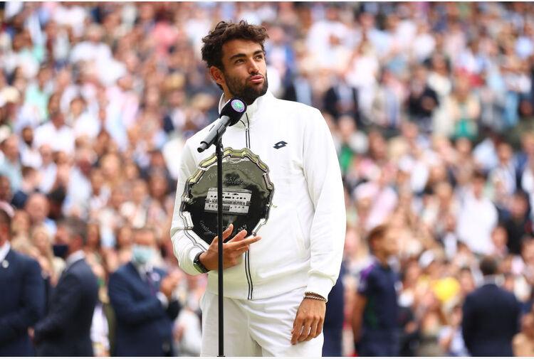 Berrettini: 'So che un giorno potrò vincere Wimbledon'