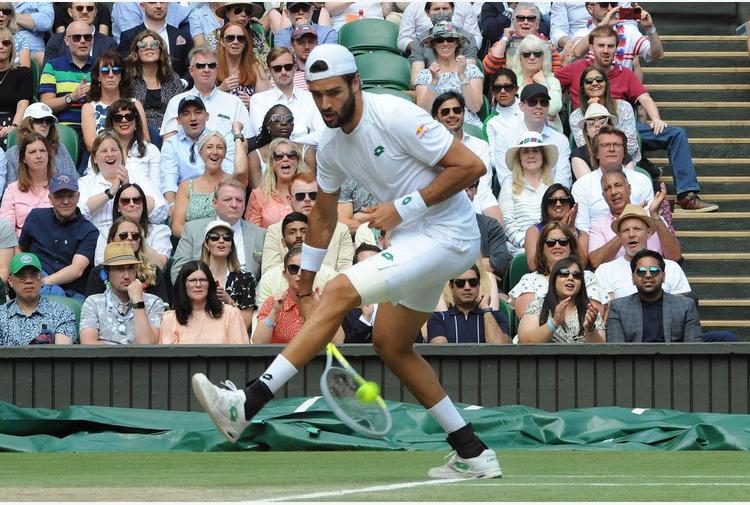 Wimbledon, Berrettini 'Per me non è una fine ma un inizio'