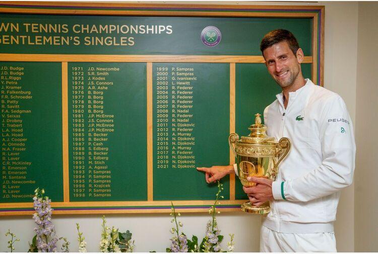 Ranking Atp: Djokovic sul trono, Berrettini all'8° posto e 3° nella Race