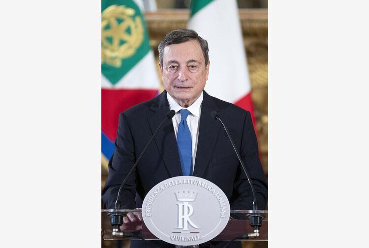 Draghi vede Letta, colloquio su riforma giustizia e vaccini