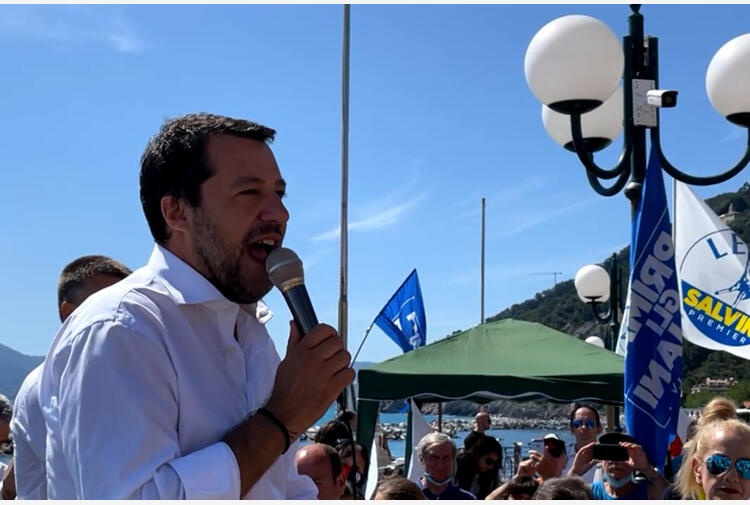 Ddl Zan: Salvini, chiediamo a Letta di dialogare