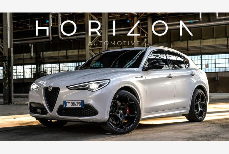 Alfa Romeo Stelvio 'Miglior auto per dirigenti' anche per Horizon