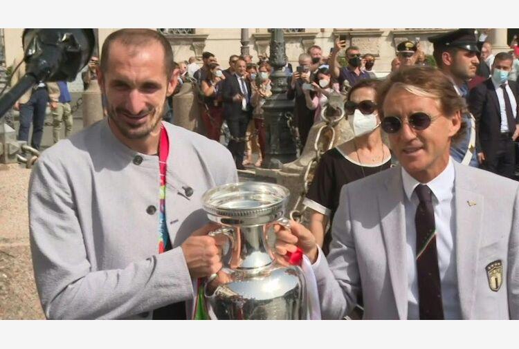 Mattarella conferisce onorificenze a Mancini e Nazionale calcio
