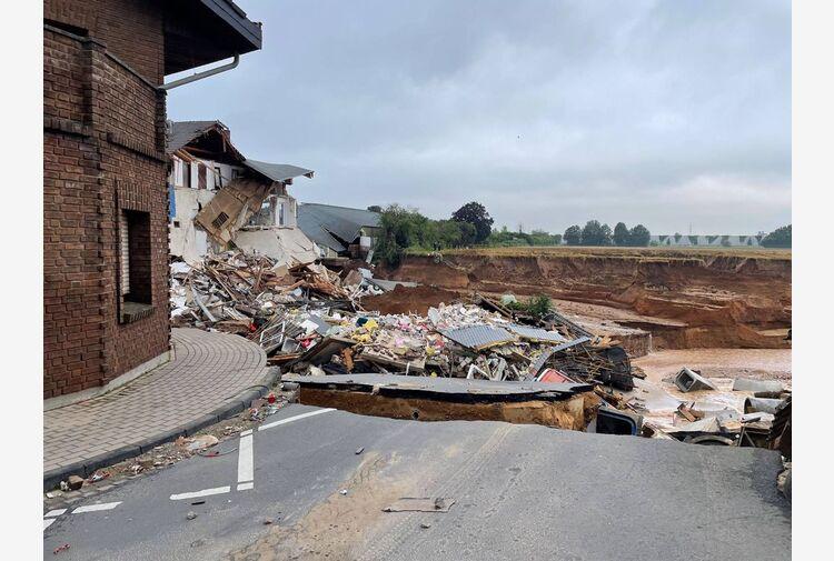 Maltempo, in Germania e Belgio aumenta bilancio vittime