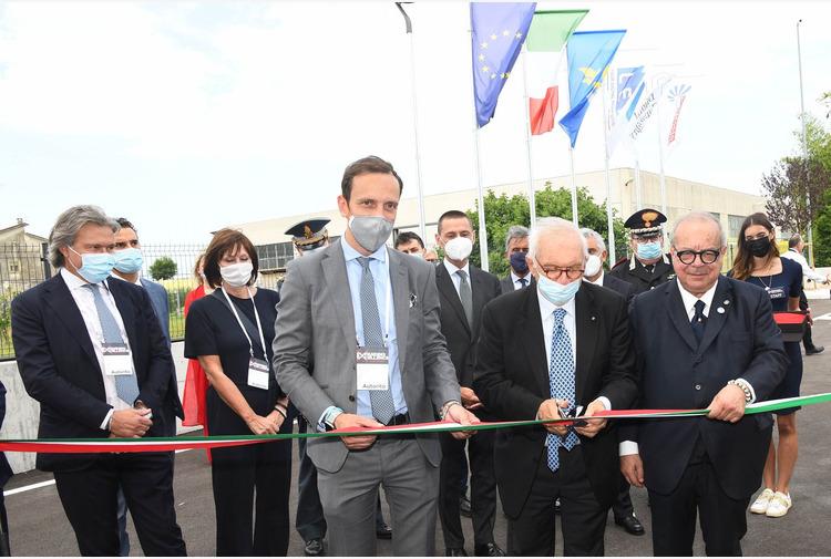 Fvg, Fedriga e Bianchi inaugurano ampliamento Lean Experience Factory