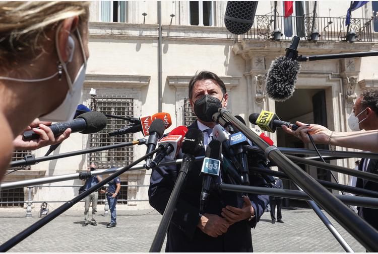 Reddito cittadinanza:Conte,Draghi prenda posizione chiara