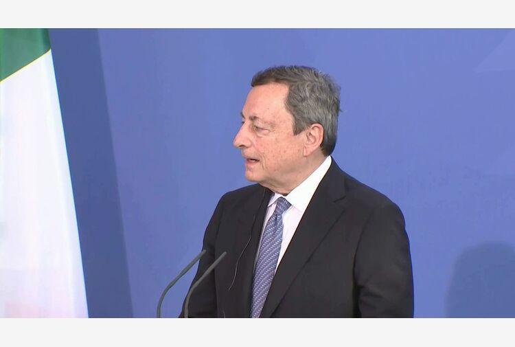 Draghi: chiesto ok fiducia su giustizia, ma aperti a miglioramenti