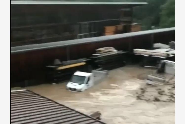 Maltempo: forti temporali con alluvioni in Alto Adige