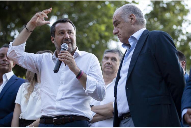 Salvini, la camorra è merda, non accettiamo suoi voti