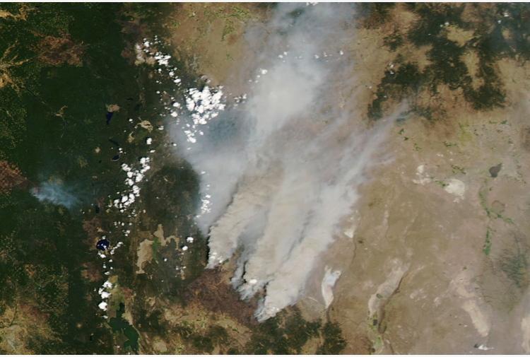 Usa: l'ovest continua a bruciare, rogo devasta l'Oregon