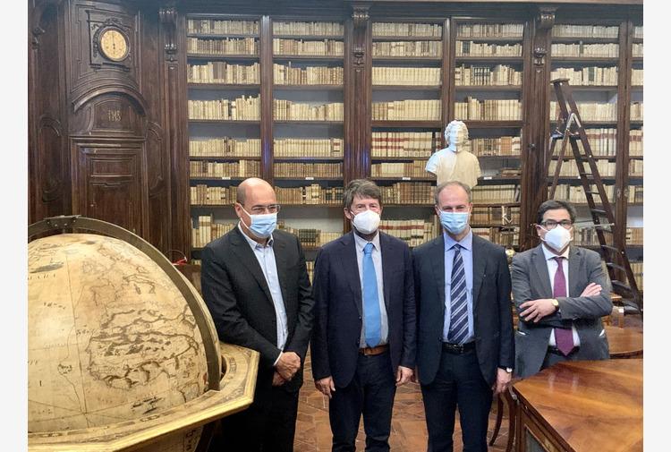 A Roma restaurata Biblioteca Lancisiana di Santo Spirito in Saxia