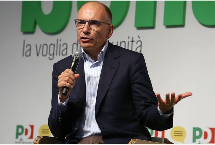 Letta: 'Nel 2023 governo lo facciamo noi, non Salvini-Meloni'