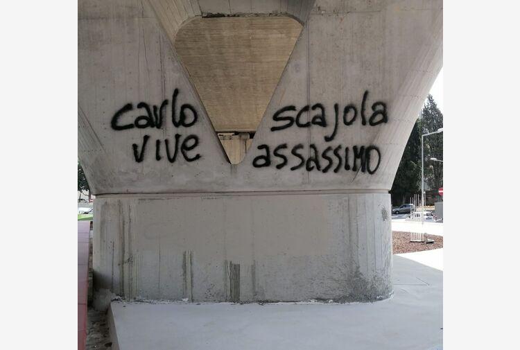 G8: scritta 'Scajola assassino'. Ex ministro, io per dialogo