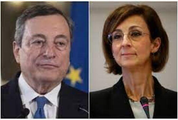 Giustizia, incontro Draghi-Cartabia a Palazzo Chigi
