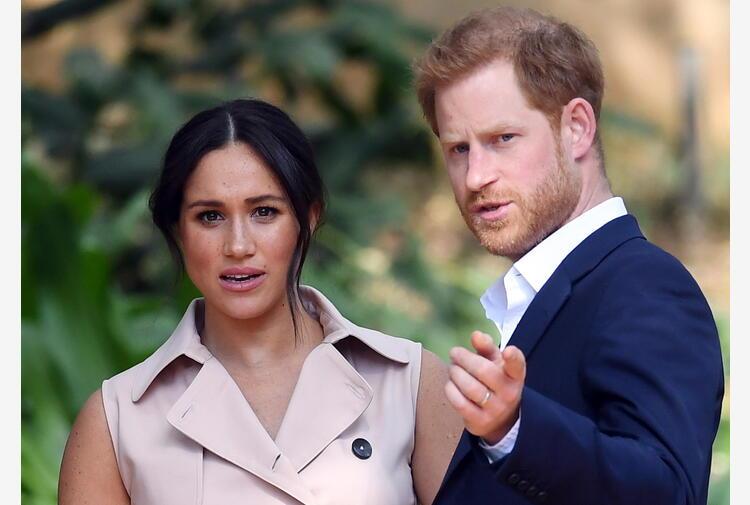 La figlia di Harry e Meghan aggiunta a linea successione reale