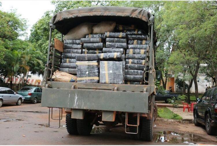 Paraguay: sequestro record di 36 tonnellate di marijuana
