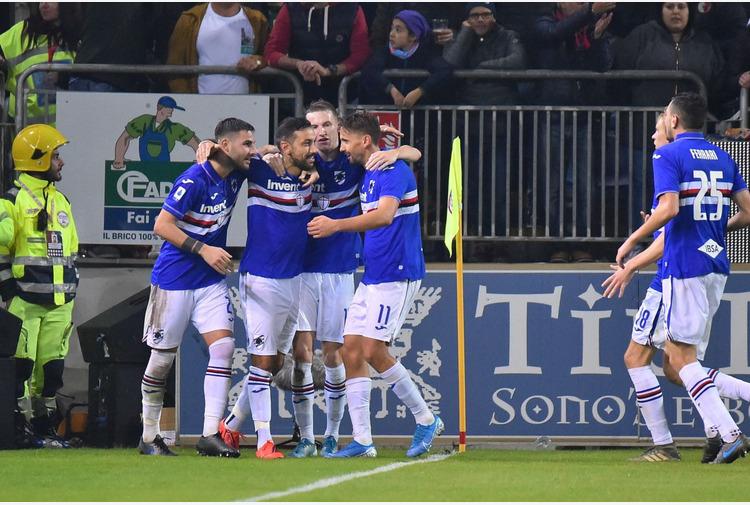 Calcio: Amichevoli. La Samp batte 2-0 il Piacenza, bis di Quagliarella