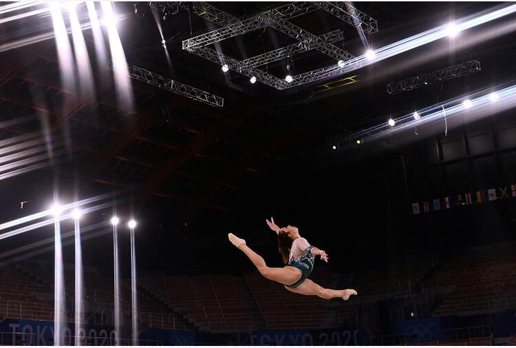 Tokyo 2020, Vanessa Ferrari argento nella ginnastica