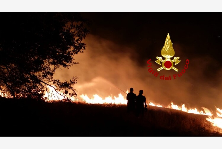 Incendi: Regione Molise chiede stato emergenza