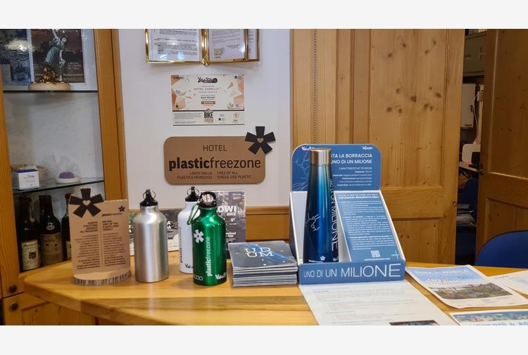 Ambiente: Trentino, plastic free 80% hotel Val di Pejo