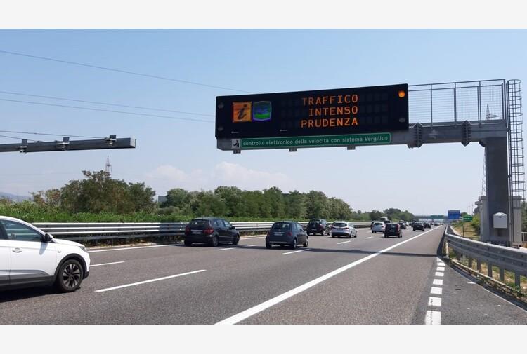 Estate: Anas, a luglio traffico aumentato del 10%