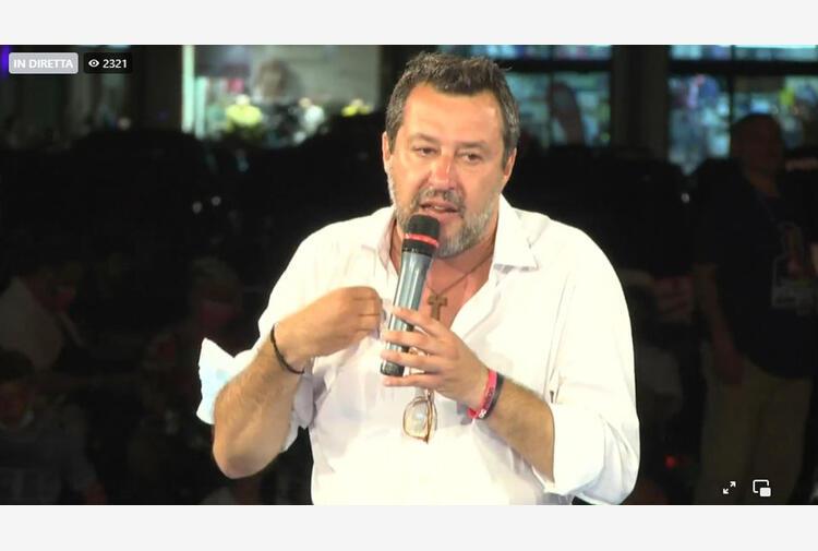 Green pass:Salvini, diritto salute insieme a diritto lavoro