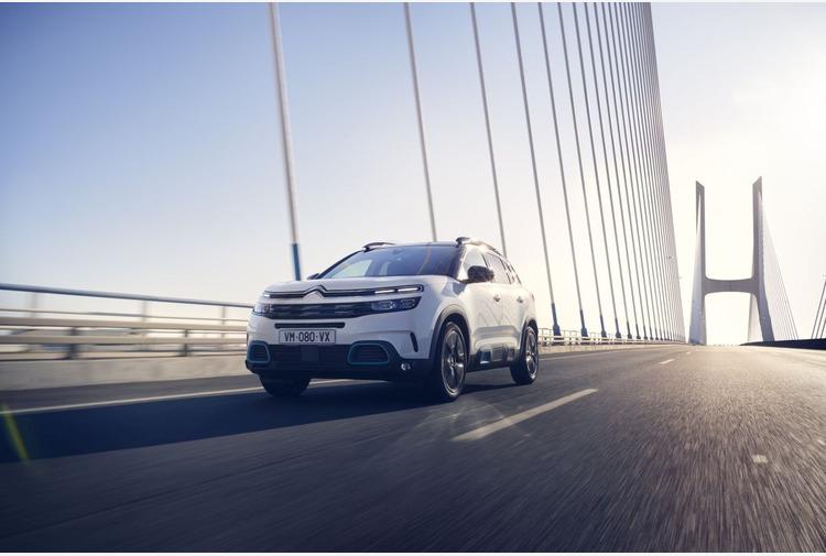 Con Citroën C5 Aircross Hybrid Plug-In viaggi a zero emissioni