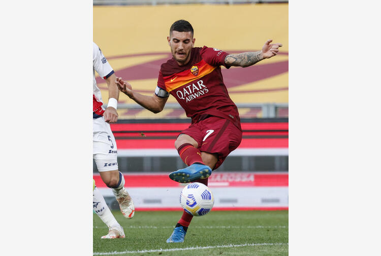 Roma: stop Pellegrini, Dzeko si allena da solo