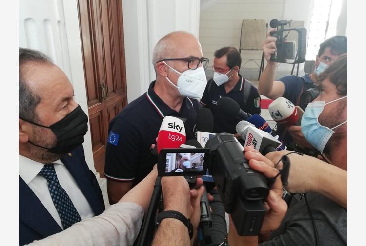 Incendi: Curcio, presidente Draghi vicino a Calabria