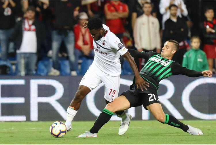 ++ Calcio: Milan, stiramento al flessore per Kessie ++
