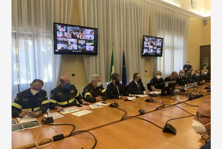 """Incendi in Calabria, Curcio """"La situazione sta migliorando"""""""