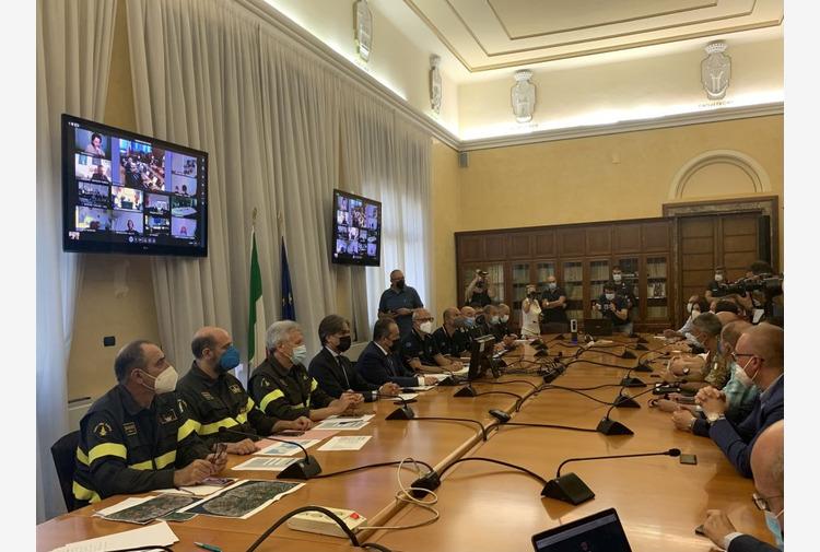 Incendi in Calabria, Curcio 'La situazione sta migliorando'