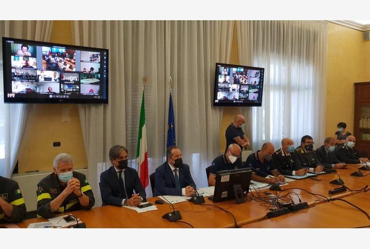Emergenza incendi, anche Curcio alla riunione operativa indetta a Reggio Calabria