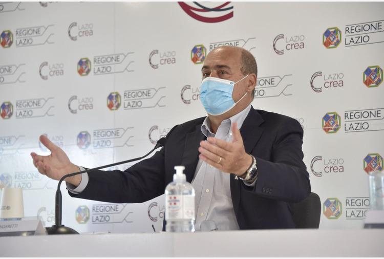 Zingaretti 'Nel Lazio il 72% degli over12 è vaccinato'