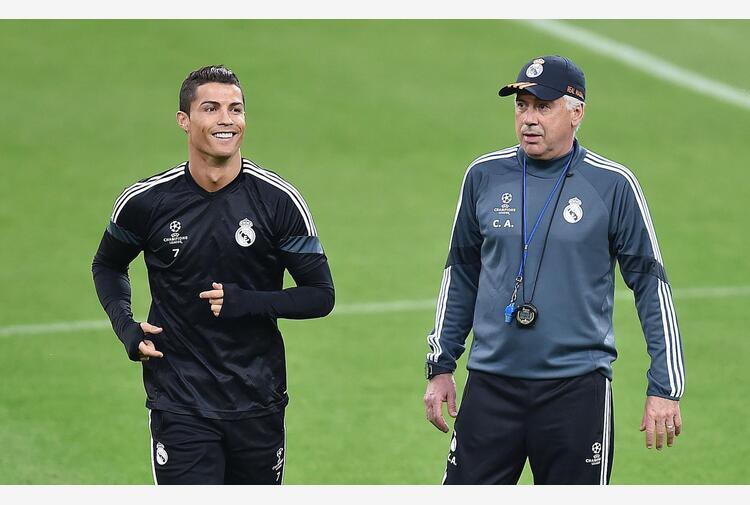 Real Madrid: Ancelotti, mai pensato di far ingaggiare Ronaldo