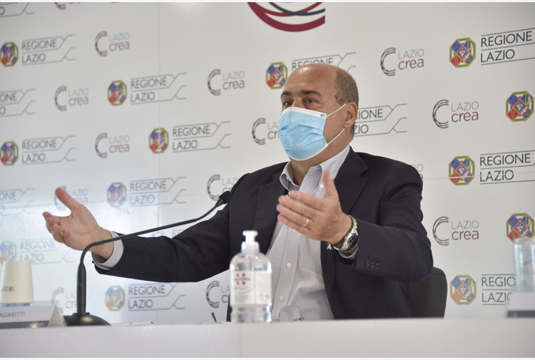 Vaccino, Zingaretti 'Oltre 73% over 12 ha completato ciclo'