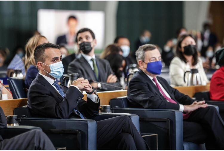 Afghanistan: Draghi incontra i ministri Di Maio e Guerini