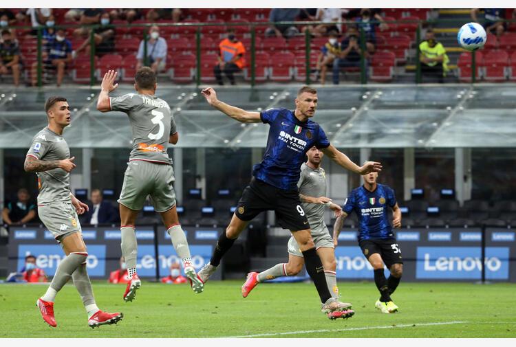 Inter, Dzeko: 'Un grazie a Lukaku ma guardiamo avanti'