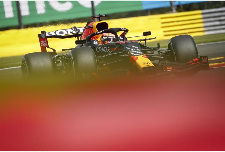 Gp Belgio: seconde libere a Verstappen, Leclerc a muro