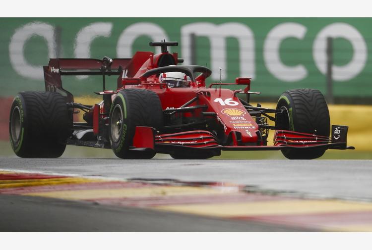 F1: Gp Belgio, Leclerc e Sainz eliminati nella Q2