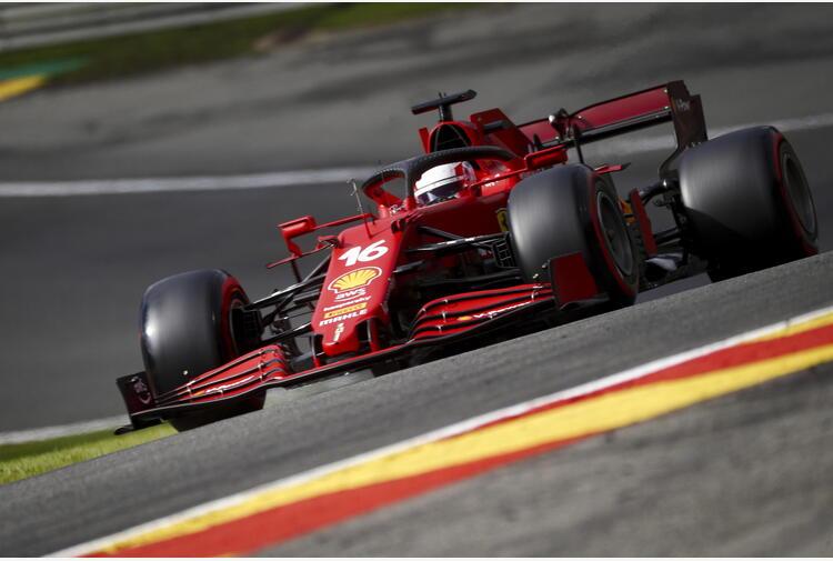 F1: Belgio; sostituito il telaio sulla Ferrari di Leclerc