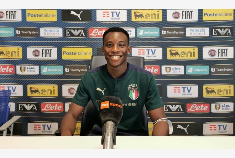 Calcio: Euro U.21, Yeboah 'Cresciuto a Londra, ora sto bene in azzurro'