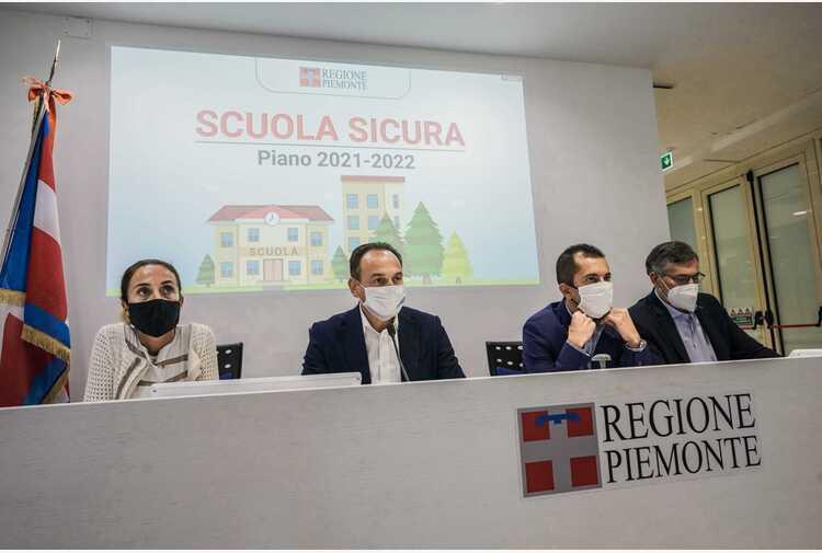Scuola: Cirio, in Piemonte tamponi gratuiti per ripartenza