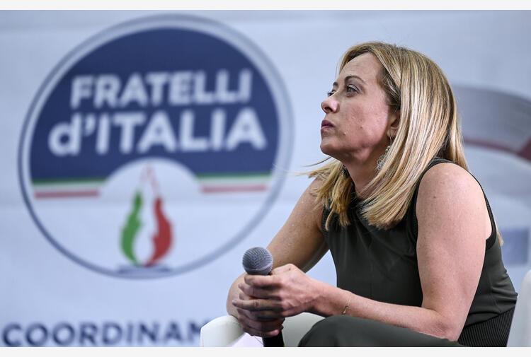 Governo:Meloni,Lamorgese inadeguata, Draghi sbaglia giudizio