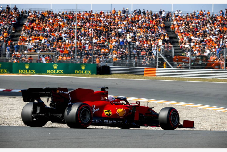 F.1: Doppietta Ferrari in Fp2 Gp Olanda, Leclerc e Sainz davanti