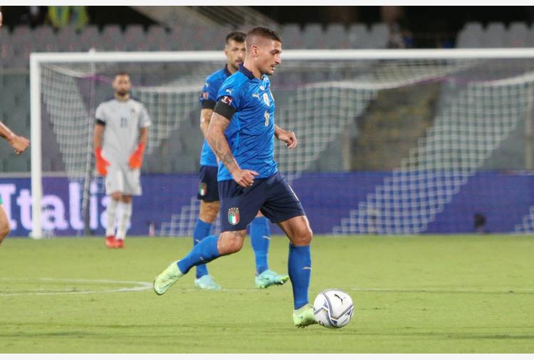 Calcio: Nazionale al lavoro per Lituania, out Verratti e Pellegrini