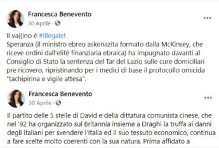 Elezioni Roma, Calenda a Michetti: 'Fai ritirare candidata no vax antisemita'