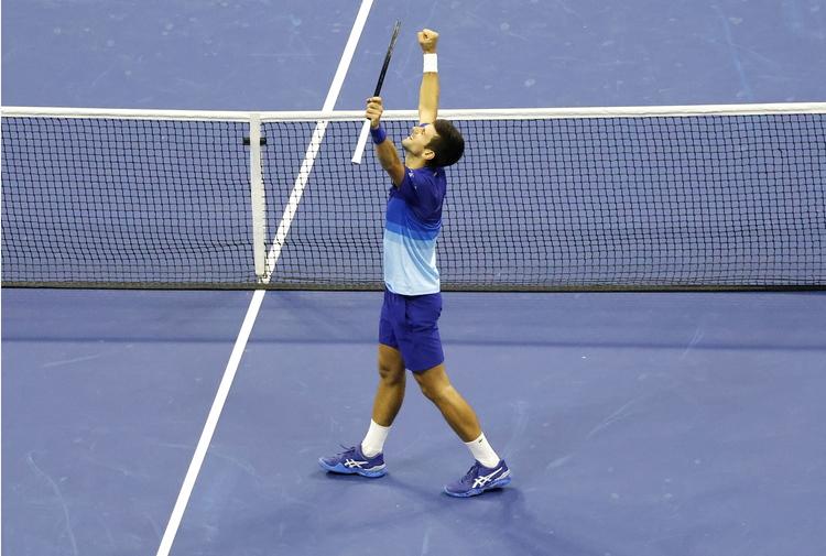 Tennis: Us Open, Berrettini ai quarti sfiderà ancora Djokovic